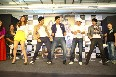 Kiara Advani  Mohit Marwah  Vijender Singh  Jimmy Shergill  Arfi Lamba dancing at film FUGLY first look trailer launch at Reliance Digital