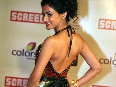 Sonal Chauhan hot bare back show at 18th Annual Colors Screen Awards Photo