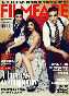 Deepika Padukone John Abraham and Akshay on the cover of Filmfare Magazine November 2011