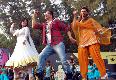 Chitrangada Deepika Padukone Akshay Kumar and  Desi Boyz Promotion Pic
