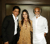Shahrukh Khan with Rajnikanth Ra One Tamil Audio Launch