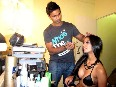 Poonam Pandey Getting Ready Hot Photoshoot