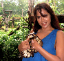 Sameera Reddy With Cobra Snake