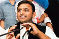 Akhilesh Yadav at Press Conference Photo