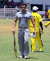 Salman Khan batting at the Junoon Celebrity Charity Cricket Match Photo