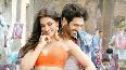 Kriti Sanon   Kartik Aaryan starrer Luka Chuppi Song Poster Lagwa Do Photos  25