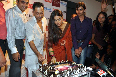 Vidya Balan cutting with special cake with Sujoy Ghosh on occassion of the DVD launch of their film KAHANI at Diesel Store Photo
