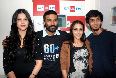Shruti Hassan Dhanush Aishwarya Anirudh Ravichandra at Big FM for 3 Tamil Movie Photo