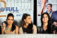 Shazahn Padamsee Jacqueline Fernandez Zarine Khan at film Housefull 2 first theatrical promo launch at Cinemax in Mumbai Photo