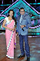 Sonakshi Sinha with Mithun Chakraborty on the sets of dance reality show Dance India Dance Lil Masters to promote her film Rowdy Rathore photo