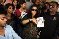 Vidya Balan as Vidya Bagchi at Khar Station for Kahaani Movie Promotion Photo