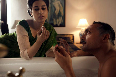 Rahul Bose and Anita Majumdar Midnights Children Photo