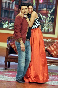 Deepika Padukone with Kapil Sharma promoting RAM LEELA on Comedy Nights With Kapils