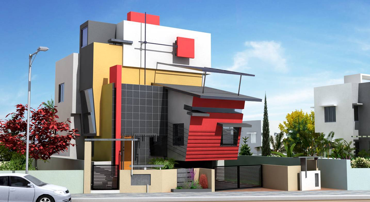 Residential architecture bangalore architecture interior for Residential interior designing services