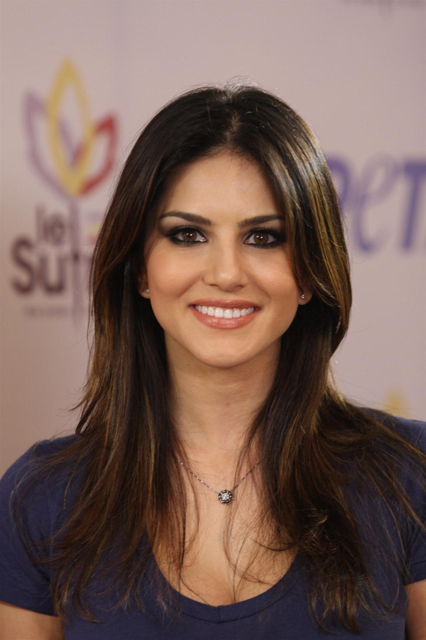 Penthouse model turned actress Sunny Leone at the unveiling of new ad ...