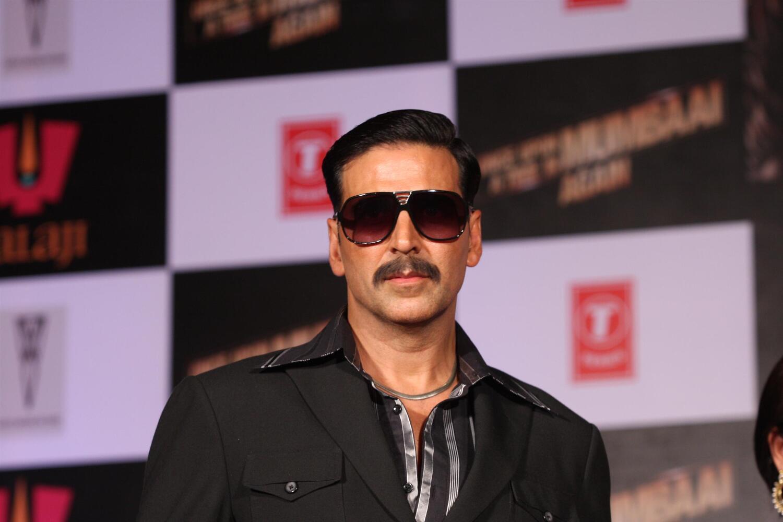 Akshay Kumar at first ...