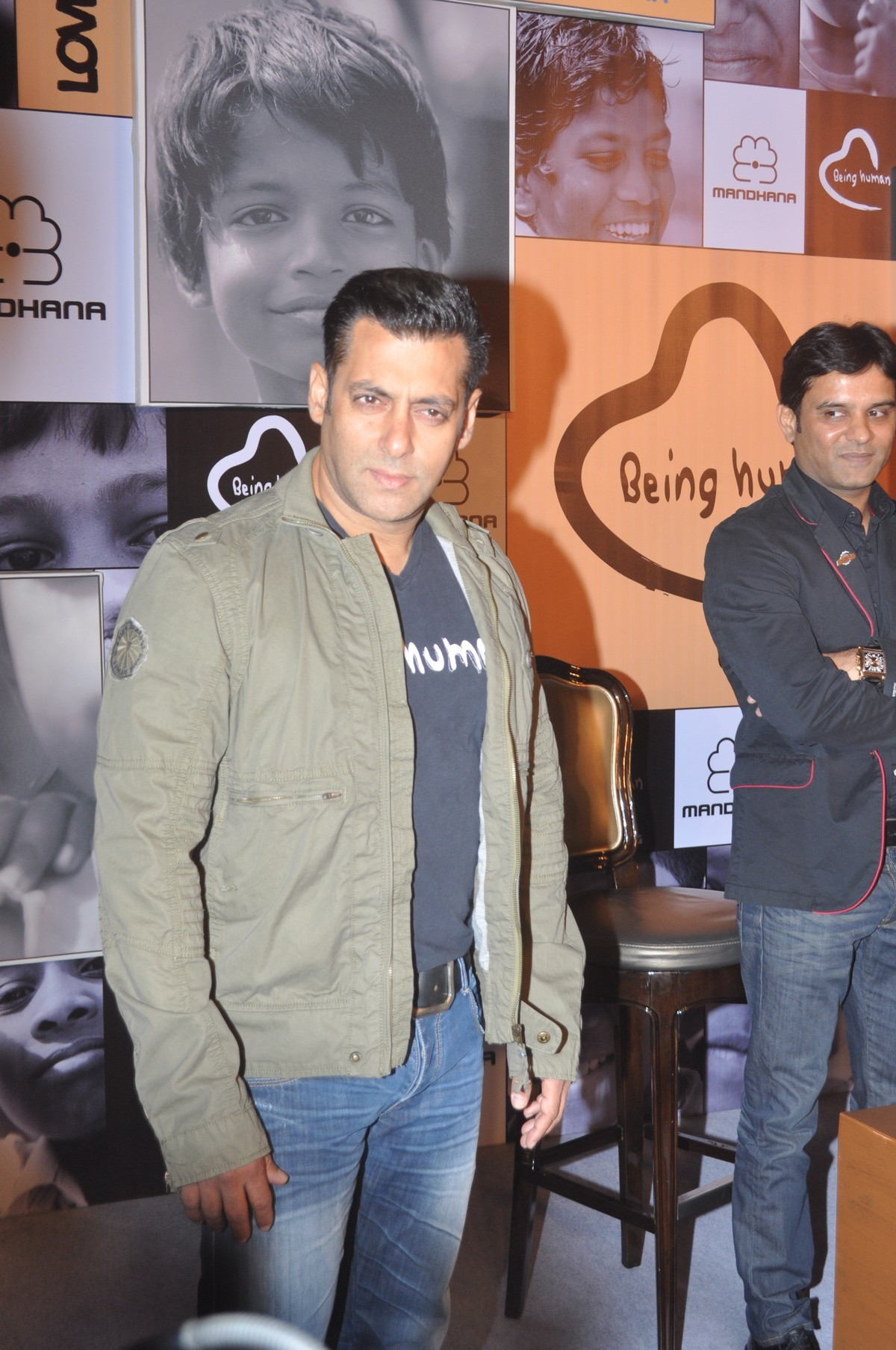 Salman Khan arriving at the press meet announcing the ...