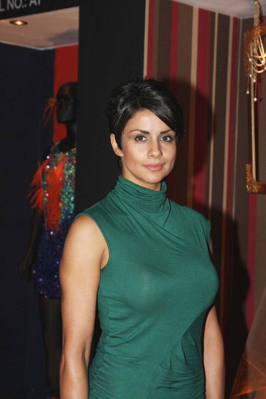 Gul Panag at Anita Dongre fashion show at LFW Winter Festive 2012 in