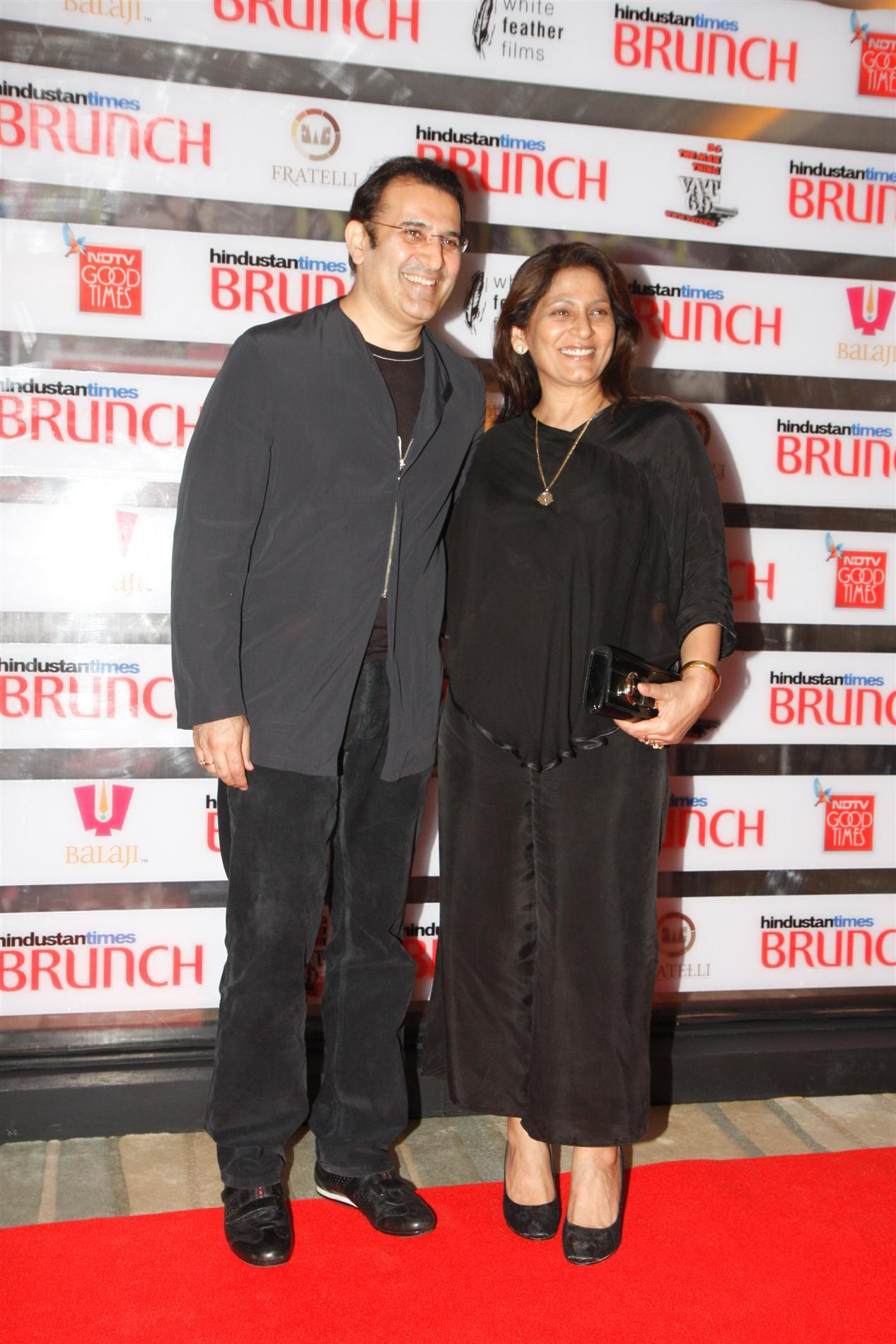 Archana Puran Singh Family Photo Archana Puran Singh With