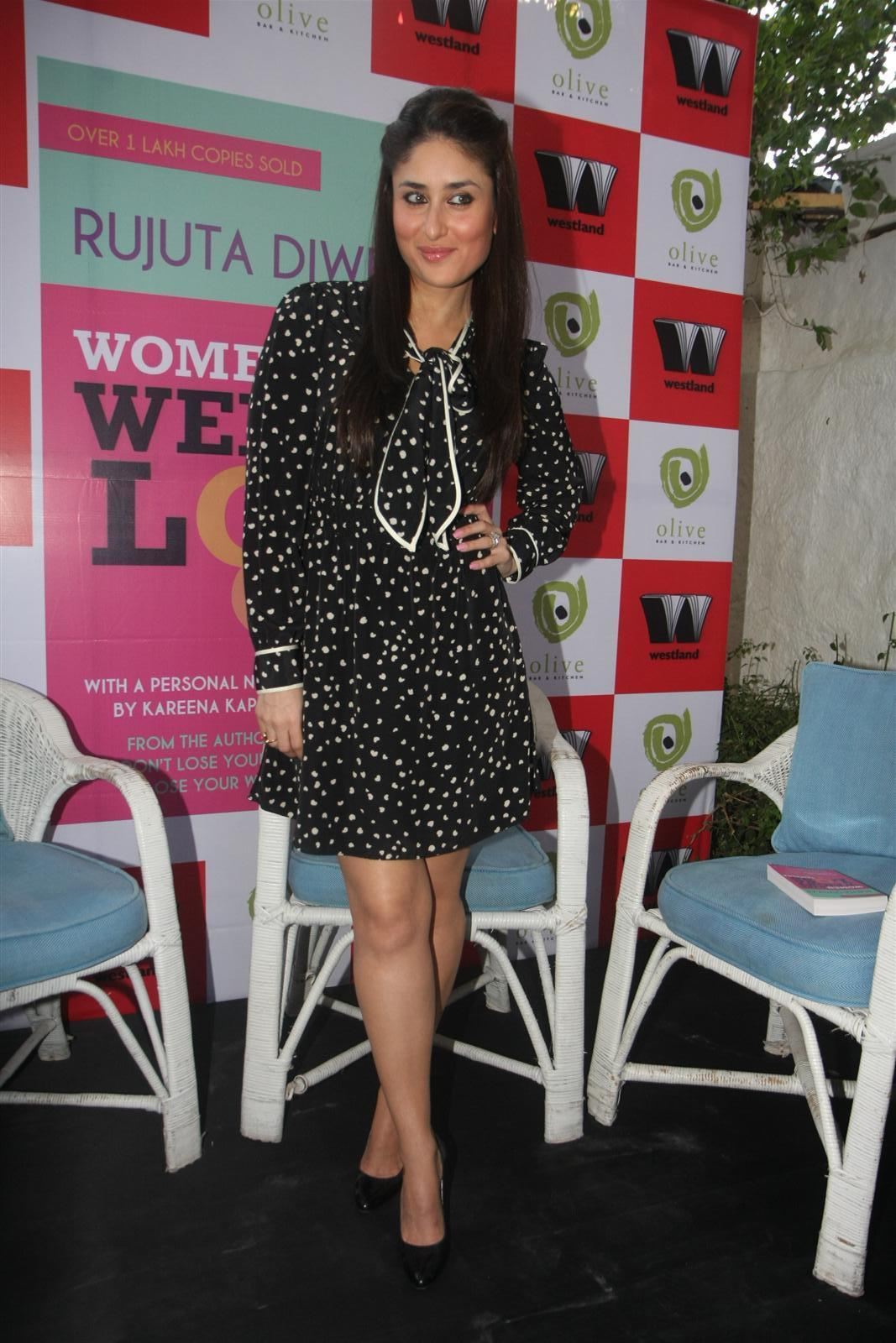 Kareena Kapoor At The Launch Of Book Women Weight Loss