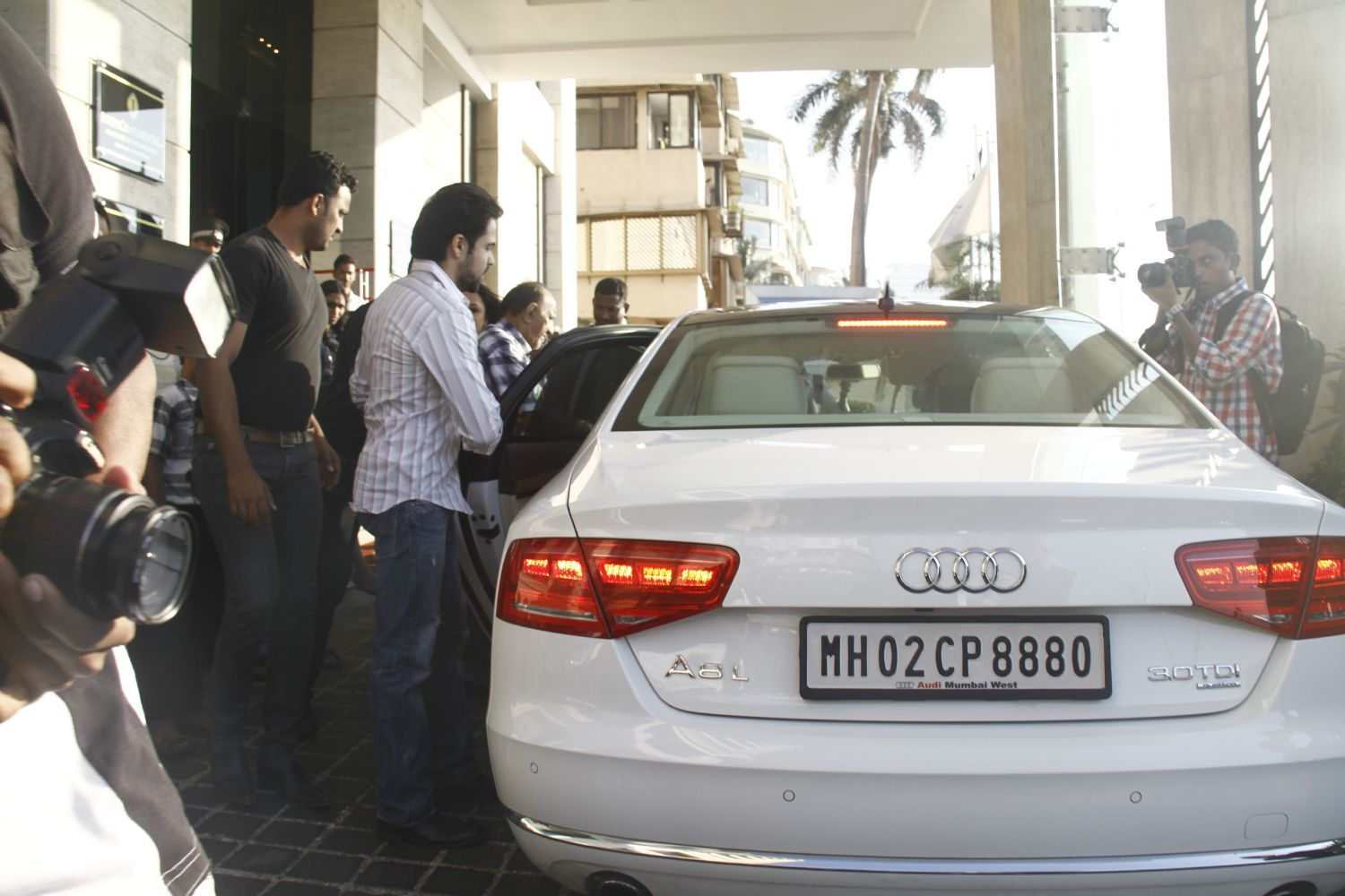 photo of Emraan Hashmi Audi - car