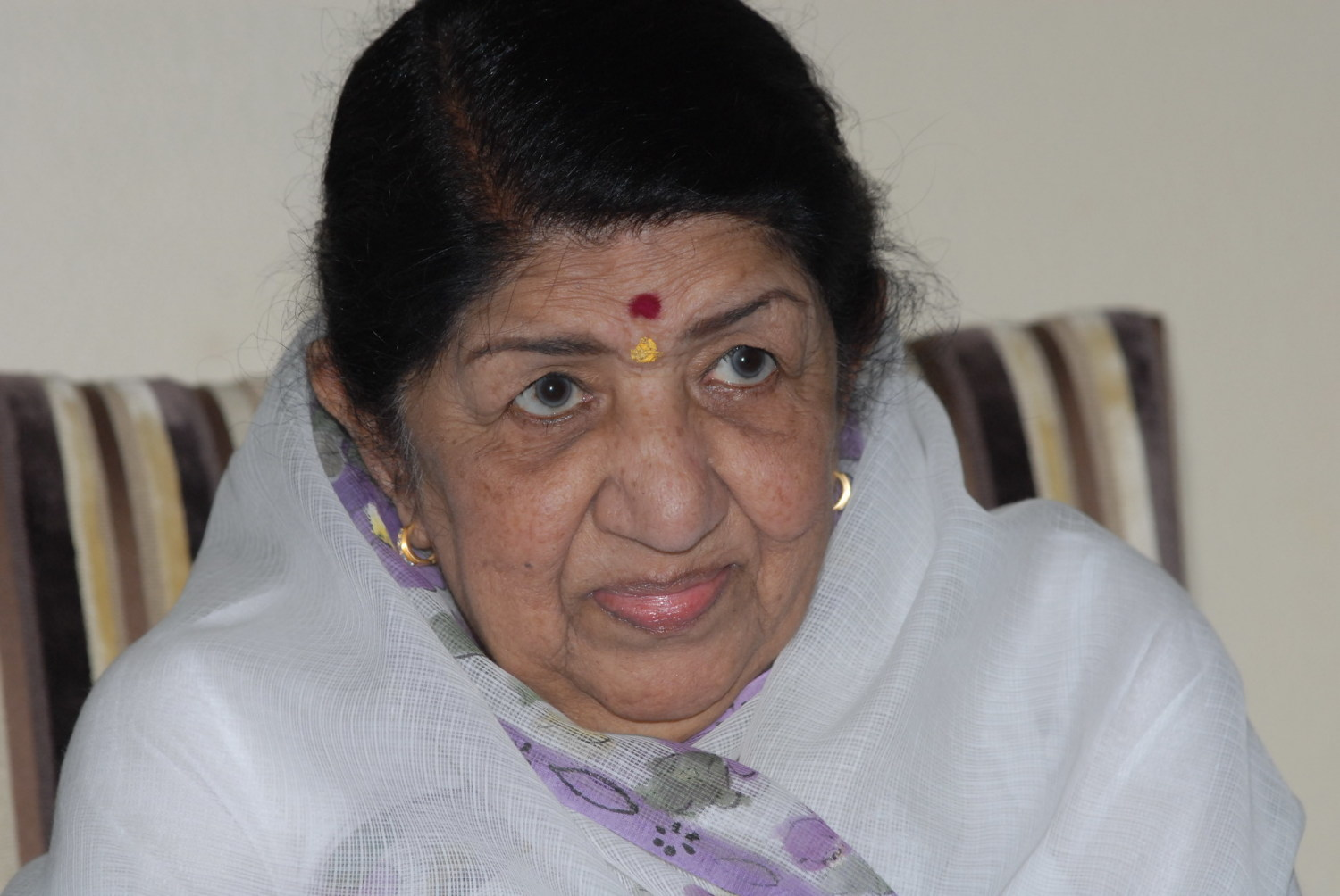 lata mangeshkar A recent, heartfelt conversation with lata mangeshkar, india's nightingale,  reinforced that her melodious voice resonated this side of the border.