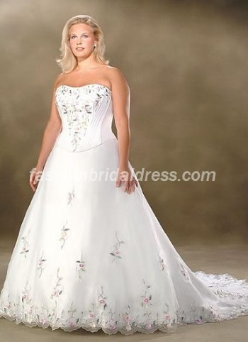 Cheap plus size bridal dresses plus size wedding dresses for Cheap plus size dresses for weddings