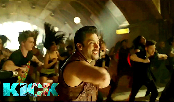 cnl8y5mhuutsjp8gD0Salman Khan Kick Movie Jumme Ki Raat Hai Song Photo - Kick