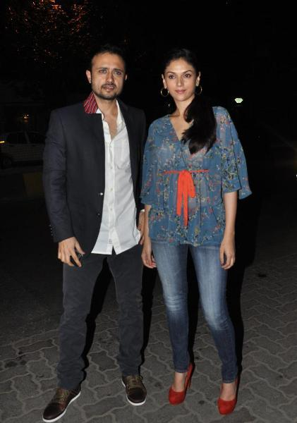 Aditi Rao Hydari with husband Satyadeep Misra
