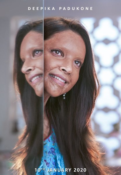 Deepika Padukone as Malti in Megha Gulzar movie Chhapaak