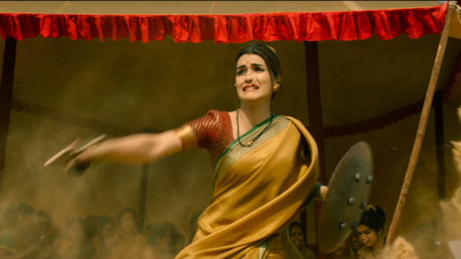Kriti Sanon in Panipat Hindi Movie  5