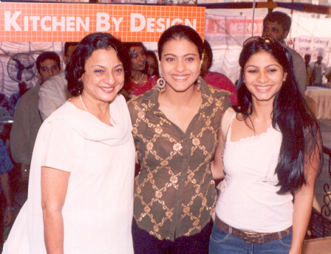 Kajol Tanuja  and Tanisha