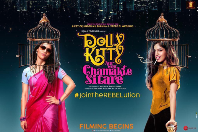 Dolly Kitty Aur Woh Chamakte Sitare Movie First Look copy