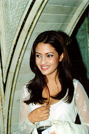 Riya Sen enjoying in a party