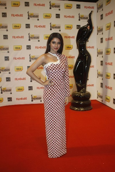 Asin Thottumkal at the 57th Idea Filmfare Awards 2011 at Filmcity in Mumbai Photo