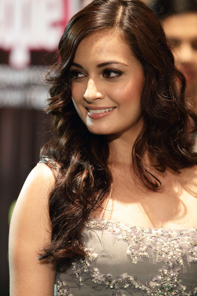 Dia Mirza IIFA Awards 2012 Green Carpet Images