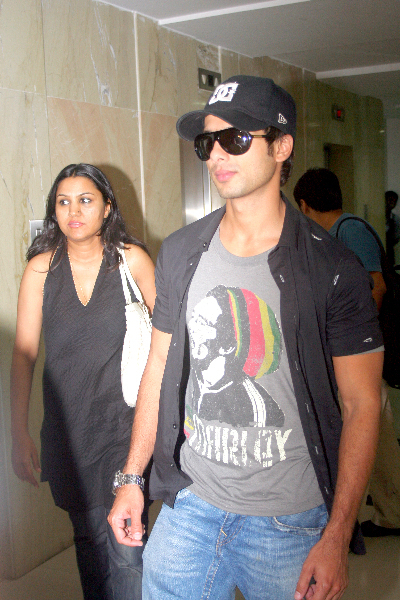 shahid kapoor for movie promotion