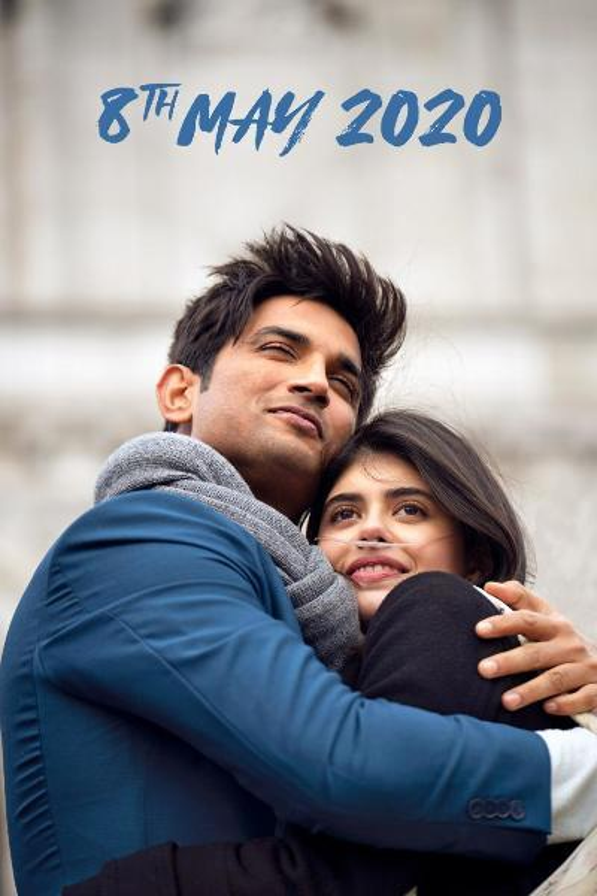 Dil Bechara movie starring Sushant Singh Rajput and Sanjana Sanghi