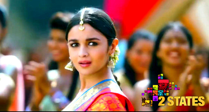 Alia Bhatt Arjun Kapoor 2 States Movie Song Photo