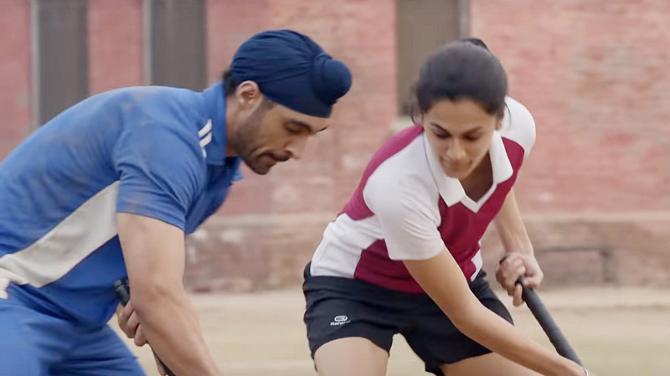 Taapsee Pannu and Diljit Dosanjh starrer SOORMA Movie Stills  37
