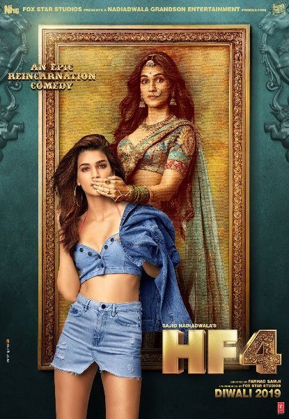Kriti Sanon Housefull 4 Movie  character poster