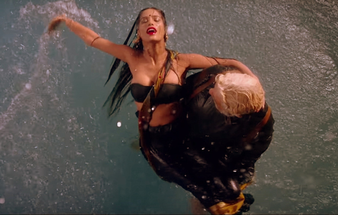 Poonam Pandey   Shakti Kapoor starrer The Journey Of Karma Movie Photos  1