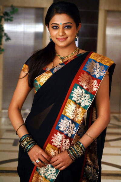 Priyamani in Black Saree