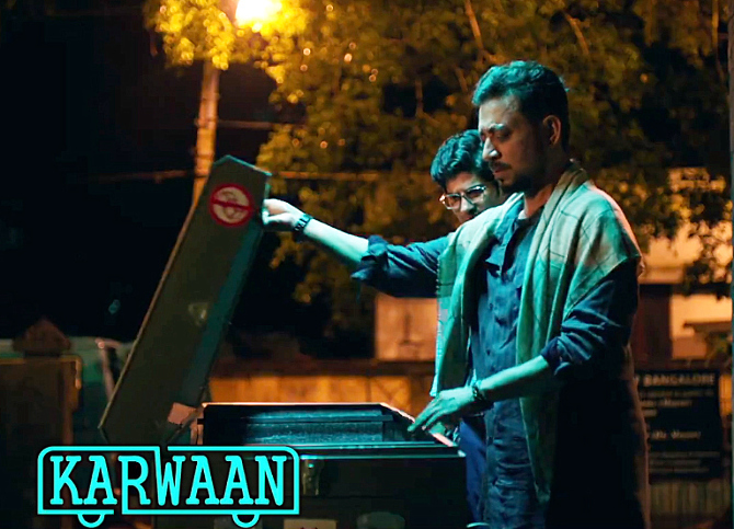 Irrfan Khan starrer KARWAAN Movie Stills  8