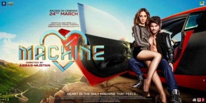 Mustafa   Kiara Advani Movie Machine Poster  2