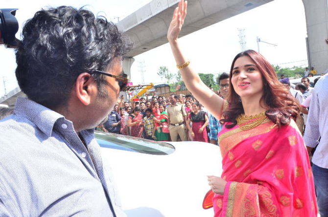 tamanna launches joh rivaaj collections-photo9