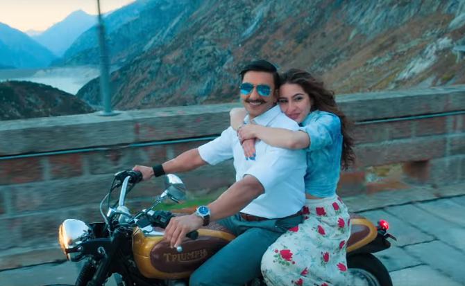 SIMMBA Movie Song Tere Bin starring Ranveer Singh   Sara Ali Khan  3