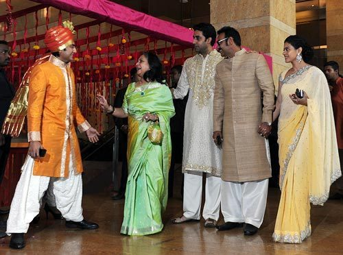 younger brother dheeraj deshmukh at genelia dsouza and