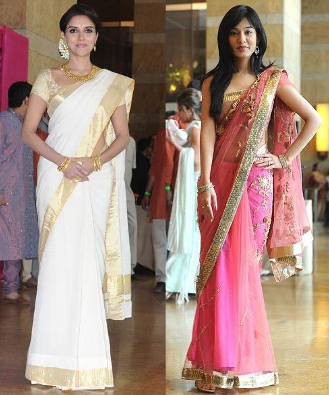 Asin And Amrita Rao At Genelia DSouza And Ritesh Deshmukh Wedding Photo Genelia D Souza Photos