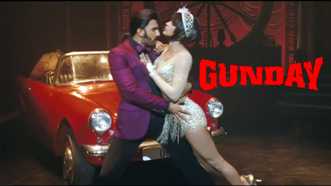 Priyanka Chopra Ranveer Singh Gunday Movie Photo